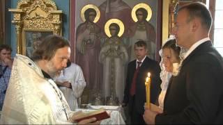 Венчание Димы и Ксении.
