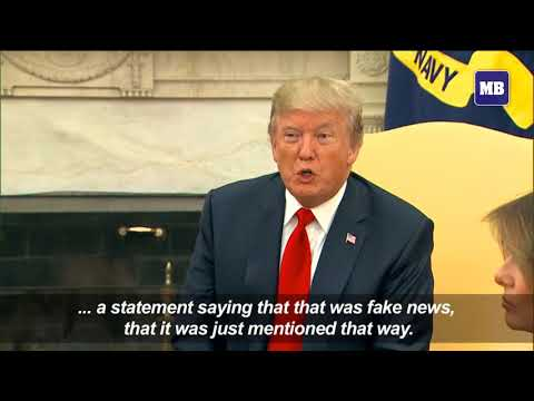 Trump warns 'disgusting' press after nuke report