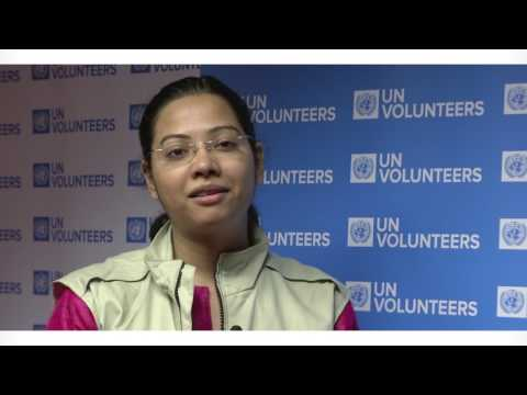 Interview with UN Volunteer Rubina Singh: Bringing people together