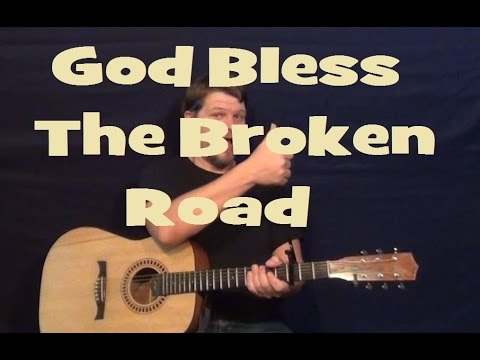 God Bless the Broken Road (Rascal Flatts) Guitar Lesson Easy Strum Chords How to Play Tutorial