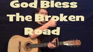 Bless Broken Road Rascal Flatts Guitar Lesson Easy Strum Chords How Play Tutorial