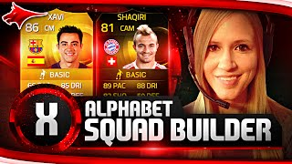 IMPOSSIBRU!! FIFA 15 ALPHABET SQUAD BUILDER! THE