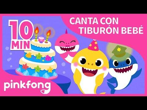 Las Mejores Canciones de Canta con Tiburón Bebé | +Recopilación | Pinkfong Canciones Infantiles