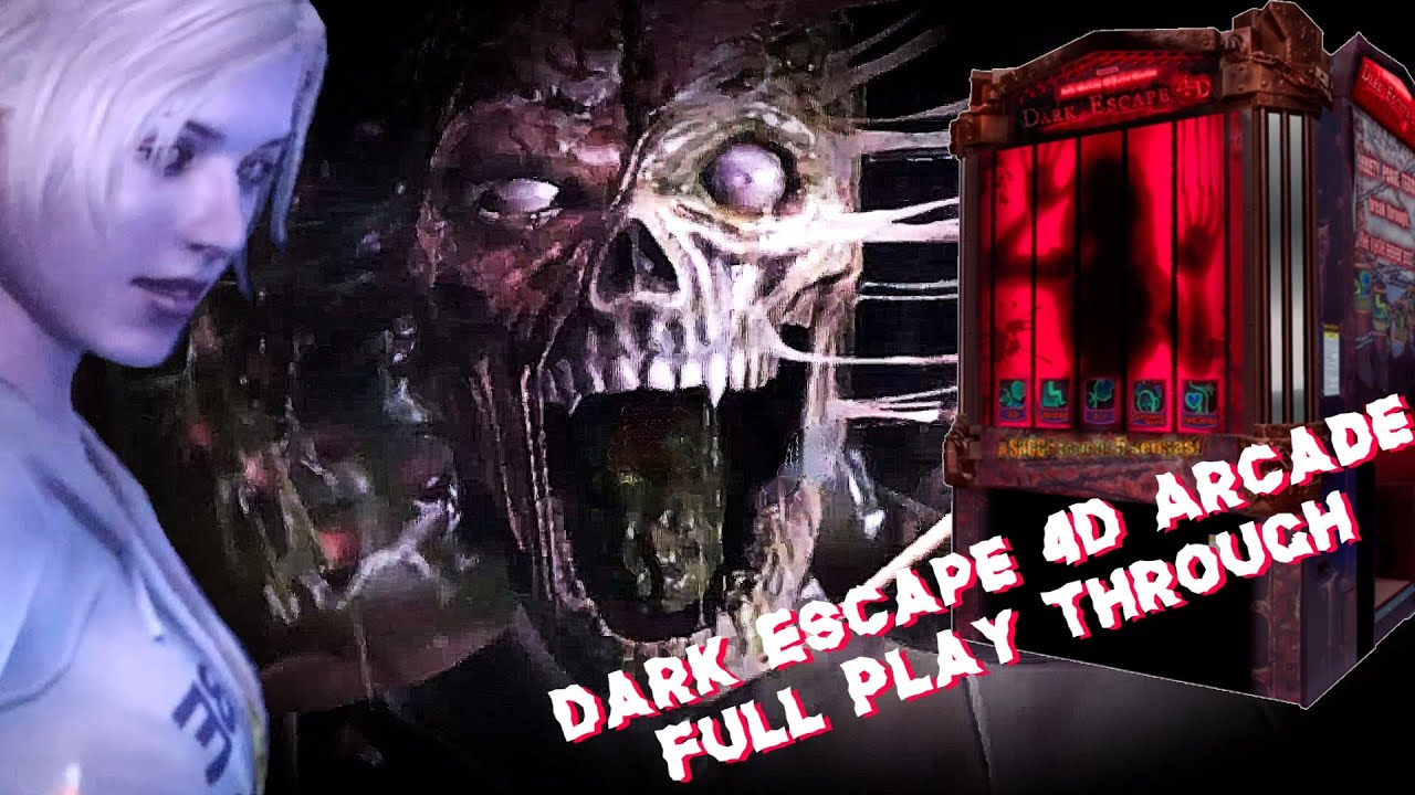 Dark Escape 4D Arcade Full Play Through