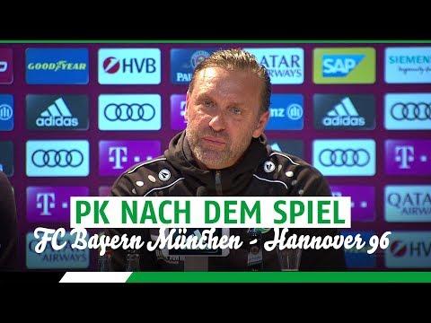 PK nach dem Spiel | FC Bayern München - Hannover 96