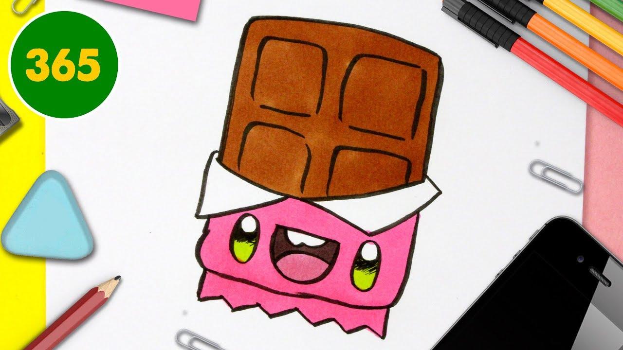 Comment Dessiner Un Chocolat Kawaii Dessins Kawaii Faciles Comment Dessiner De La Nourriture Youtube
