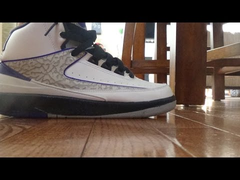 Air Jordan 2 Concord On Feet