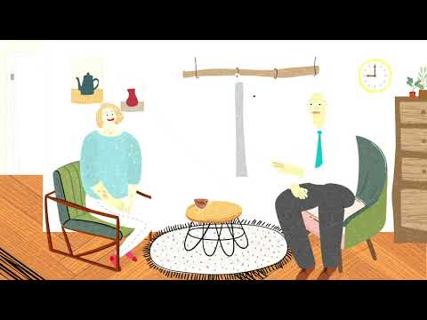 乾癬衛教動畫 - 淨索寓言《想太多姑娘》篇