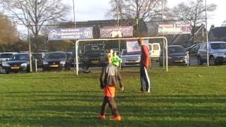 Dwingeloo E4 - FC Assen E11, penalty's