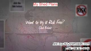 My Shed Plans Free - My Shed Plans By Ryan Henderson