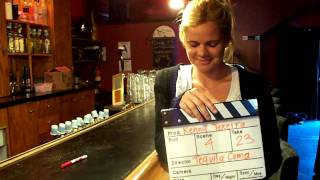 """Having fun on the set of  music video """"Tequila Coma"""""""