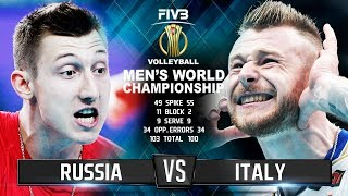 Russia vs. Italy | Highlights | Mens World Championship 2018