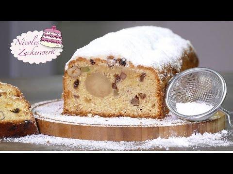 Marzipan-Quark-Stollen | Backen zu Weihnachten | Rezept von Nicoles Zuckerwerk