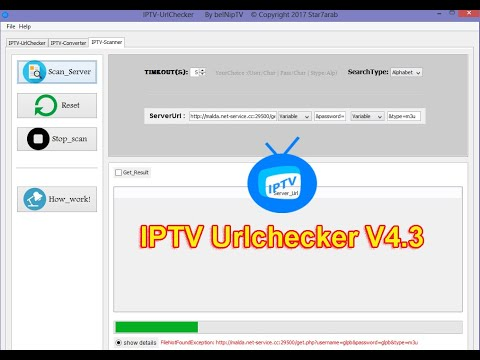 Server iptv Checker HD 2018 by Software de computadora