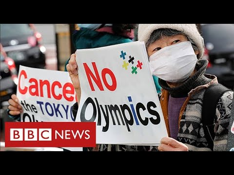 Protests against Tokyo Olympics as Japan suffers Covid surge - BBC News