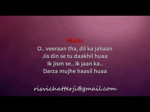 Gerua   Dilwale   Karaoke With Lyrics
