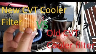 Inspira/Lancer CVT Oil and Filter change