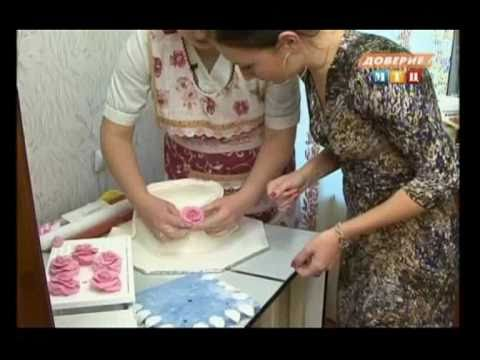 Изготовление свадебного торта дома.mp4