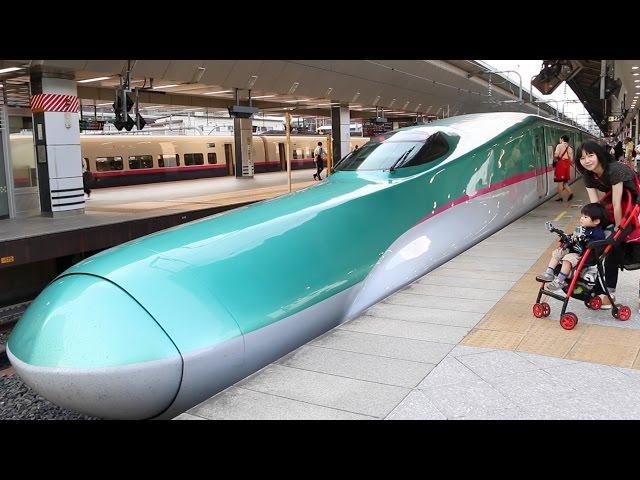 東京駅で新幹線をいろいろ見てきた Shinkansen in Tokyo Station
