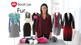 Red Heart Boutique Fur Yarn is a Luxurious Faux Fur Yarn