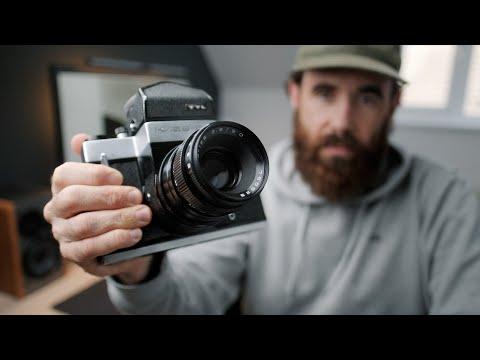 Is this cheap 6x6 Medium Format SLR worth buying? // Kiev 6C Review