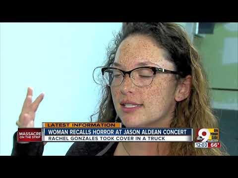 Woman recalls horror at Las Vegas Jason Aldean concert