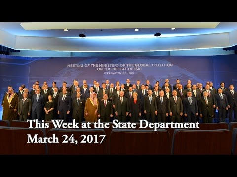 This Week at the State Department: March 24, 2017