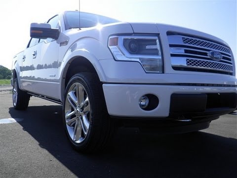 SOLD 2013 FORD F-150 SUPERCREW LIMITED 4X4 3.5 WHITE ...