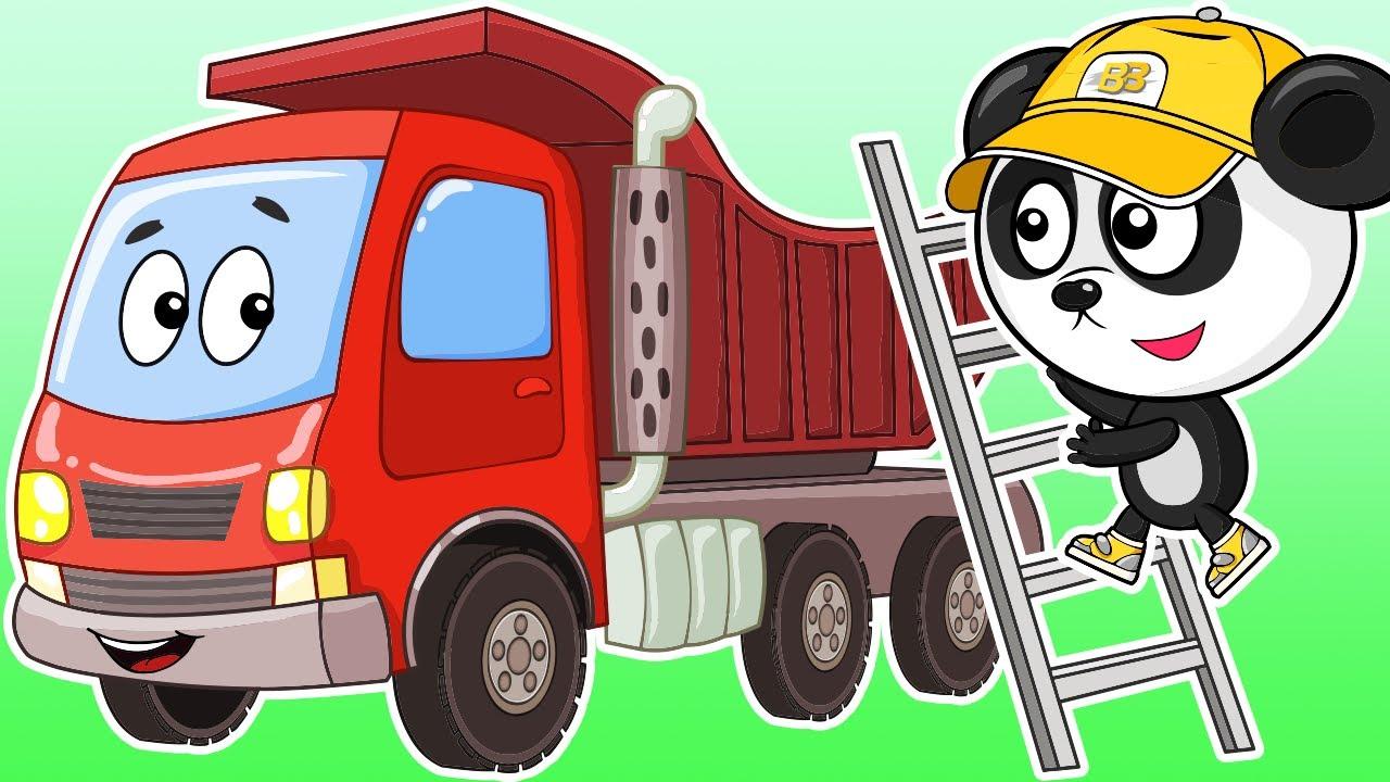 Самосвал на Стройке - Биби и Машины Помощники - Мультики Про Машинки Для Детей
