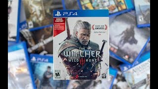 The Witcher 3 Wild Hunt With Bonus PS4 Unboxing