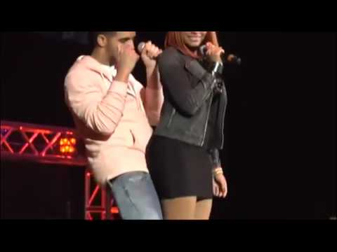 Drake & Nicki Minaj at Hot 93.7 Hot Jam 9 (Drake Responds to Lil Kim).mp4