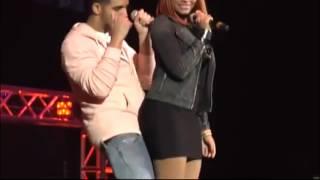 Video Drake & Nicki Minaj at Hot 93.7 Hot Jam 9 (Drake Responds to Lil Kim).mp4 download MP3, 3GP, MP4, WEBM, AVI, FLV Juli 2018