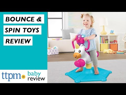 Bounce And Spin Puppy And Unicorn Baby Toy Review From Fisher-Price