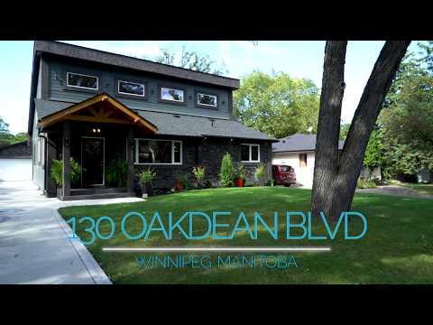 Winnipeg House For Sale - 130 Oakdean Blvd, Winnipeg, Manitoba