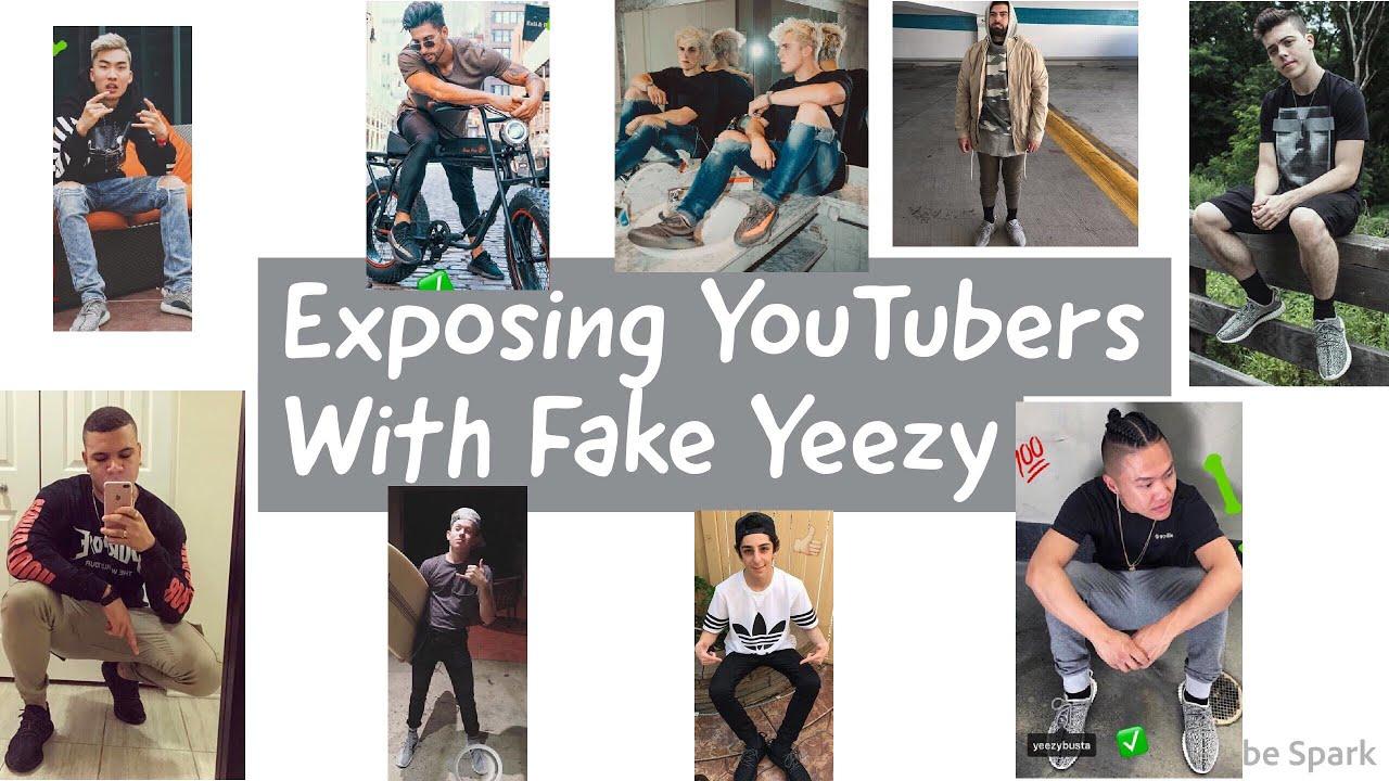 5889250962712 Exposing YouTubers With Fake Yeezy (Ft. Qias Omar