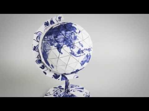 Origami Globe Animation Robeco