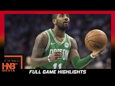 Boston Celtics vs Oklahoma City Thunder 1st Half Highlights / Week 3 / 2017 NBA Season