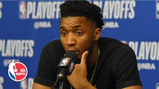 'You don't succeed without failure' - Donovan Mitchell on Jazz' elimination | 2019 NBA Playoffs