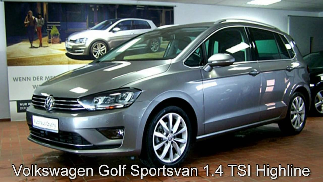 volkswagen golf sportsvan 1 4 tsi dsg highline fw590345. Black Bedroom Furniture Sets. Home Design Ideas