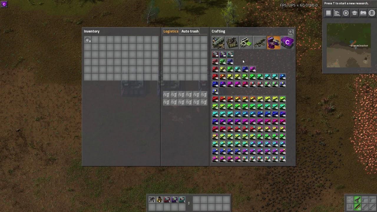 Factorio Mod Spotlight - Custom Modules