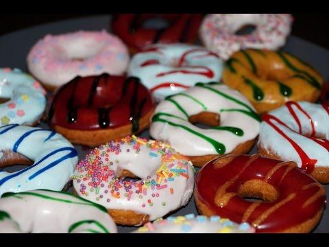 Творожные пончики (Донатс)