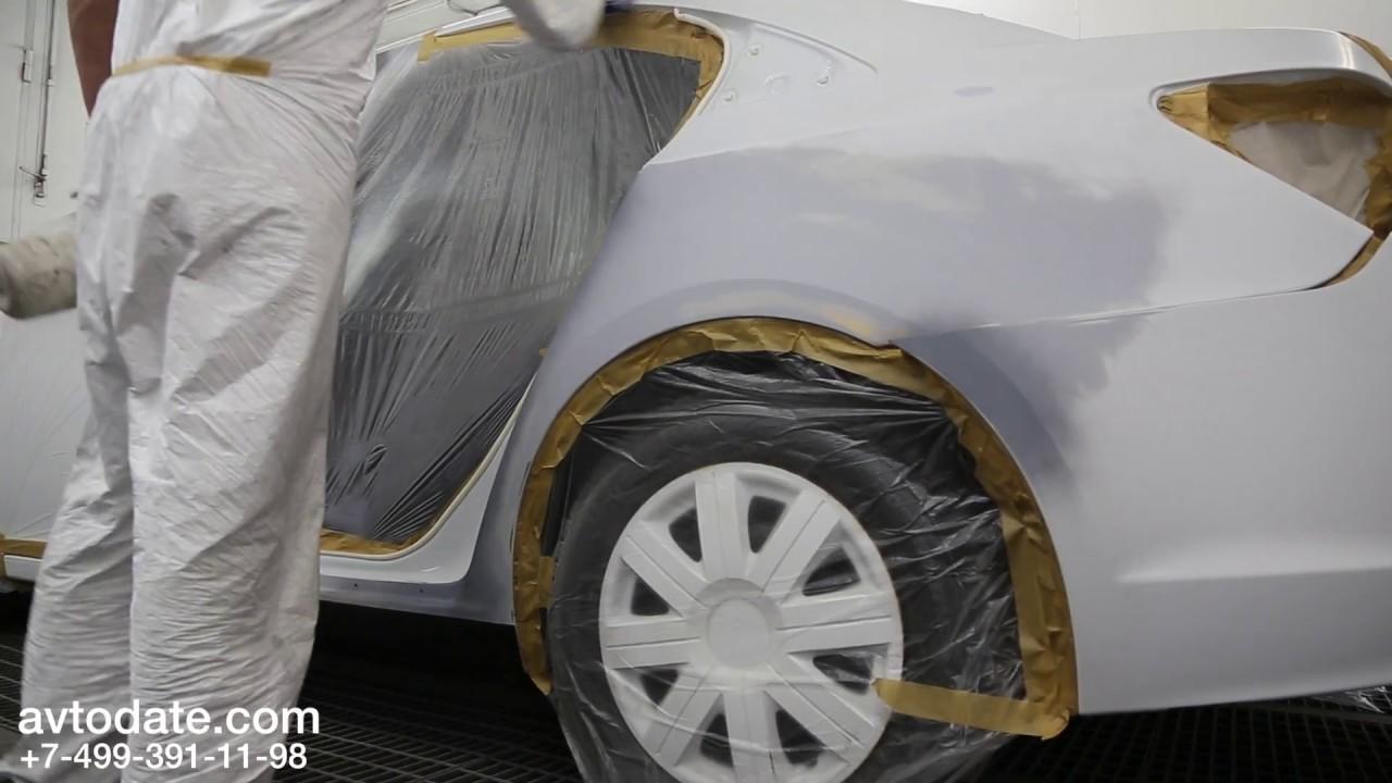 Замена двери и ремонт заднего крыла с порогом. Chevrolet Cruze 13гв. седан