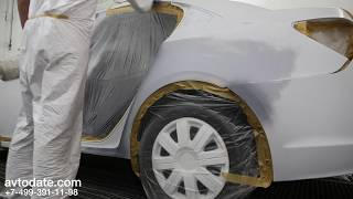 видео Кузовной ремонт Шевроле, покраска Шевроле