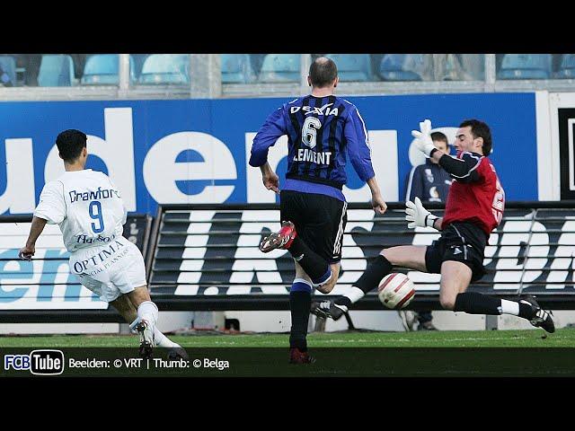 2005-2006 - Jupiler Pro League - 29. AA Gent - Club Brugge 4-1
