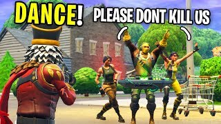 "Playing ""SIMON SAYS"" On Fortnite with NOOBS For a FRIEND REQUEST #2 (emotional)"