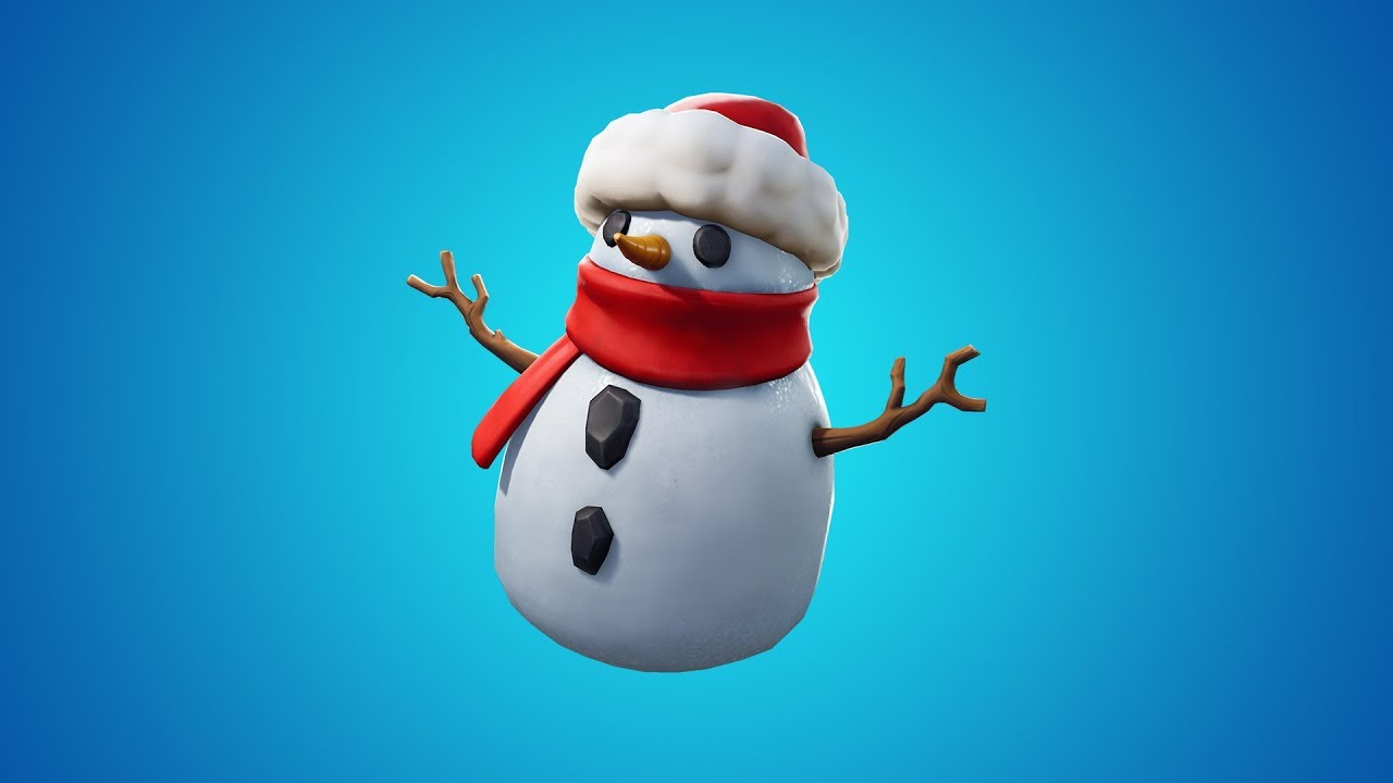 Fortnite V7 20 Patch Brings Snowmen And New Weapons To The Game