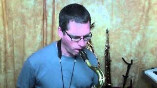 Mastering Diatonic Patterns Lesson 3 Tenor Sax clip