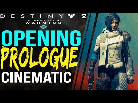 Destiny 2 WARMIND opening Cinematic ANA BRAY New Character Revealed