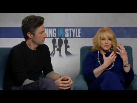 Going In Style: Exclusive Movie Interview with Ann Margret and Zach Braff