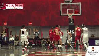 CSUN Men's Basketball vs. New Mexico Highlights/Postgame